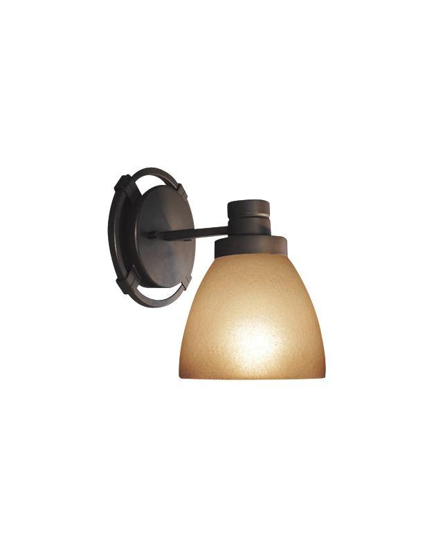 Woodbridge Lighting 53075-BRZ 1 Light Down Light Bathroom Fixture from