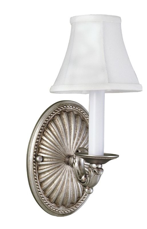 World Imports WI6207 Up Lighting Wall Sconce Pewter Indoor Lighting Up