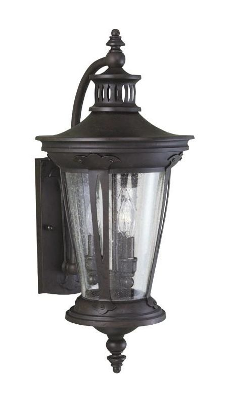 World Imports WI74261 3 Light Outdoor Wall Sconce from the Old World
