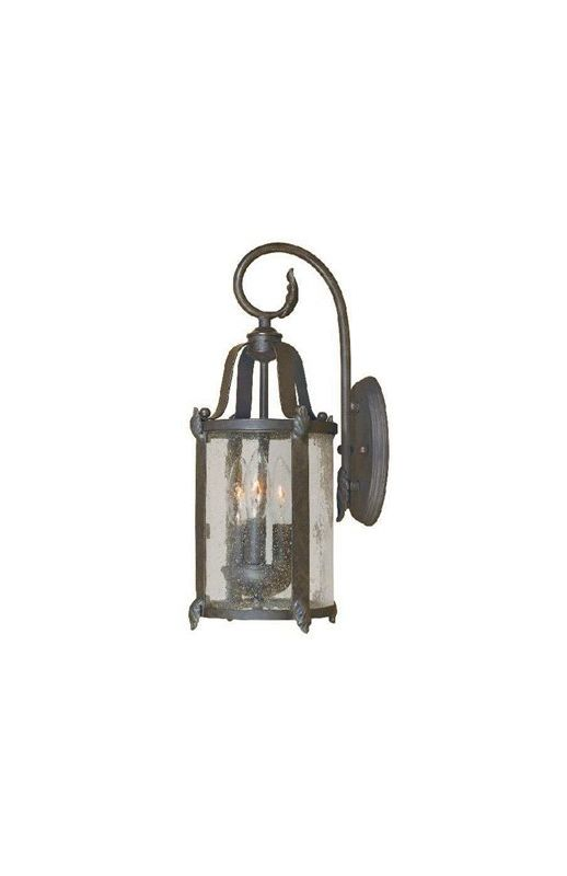 World Imports WI169289 Old Sturbridge 3 Light Outdoor Wall Sconce