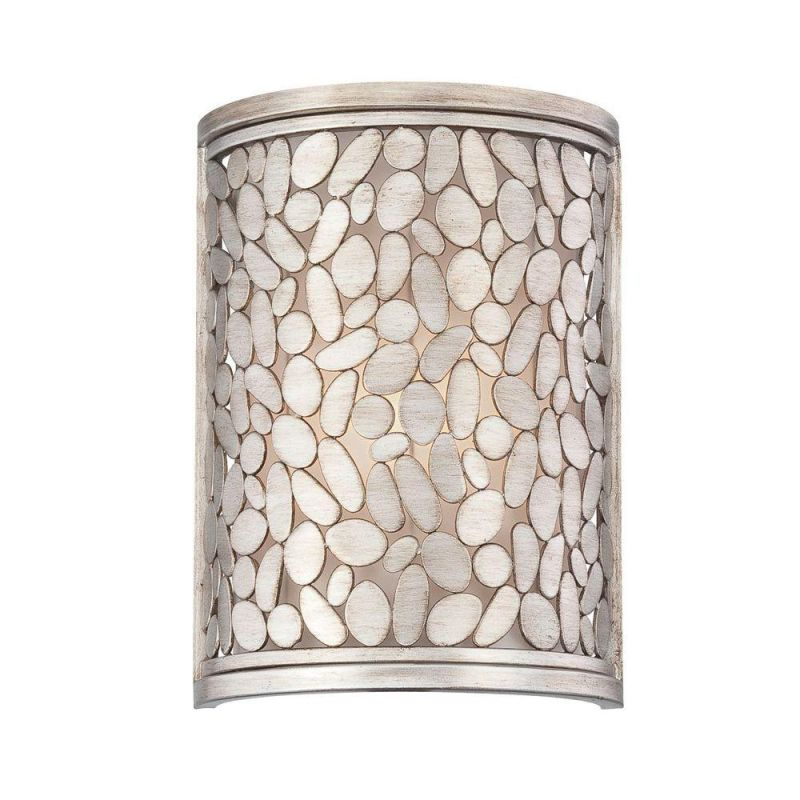 World Imports WI23089 Amano 1 Light ADA Compliant Wall Sconce Silver