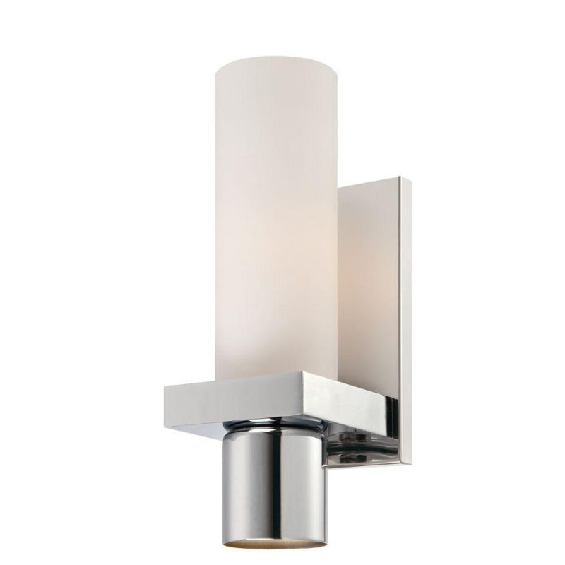 World Imports WI23277C Pillar 2 Light Wall Sconce Chrome Indoor