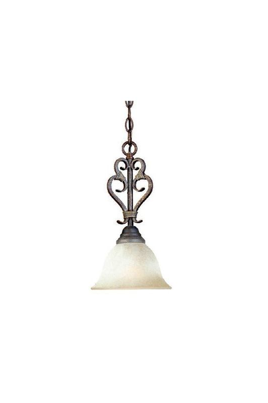 World Imports WI263124N Olympus Tradition 1 Light Mini Pendant