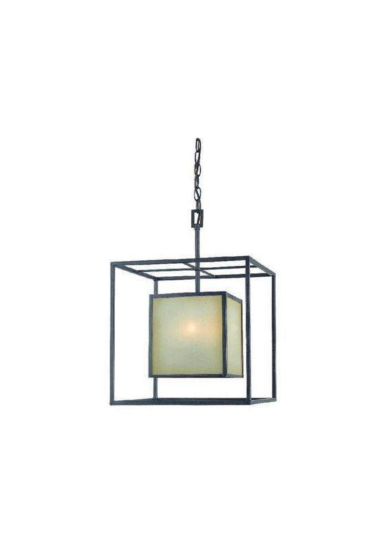 World Imports WI411555 Hilden 4 Light Full Sized Pendant Aged Bronze