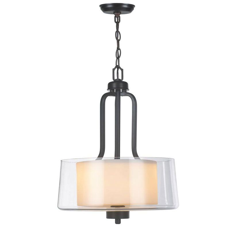 World Imports WI60994 Renee II 2 Light Pendant Oil Rubbed Bronze