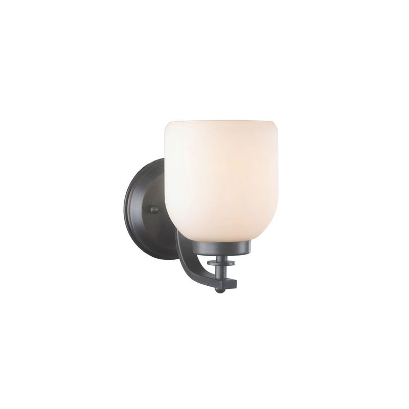 World Imports WI61028 Kelly 1 Light Wall Sconce Oil Rubbed Bronze
