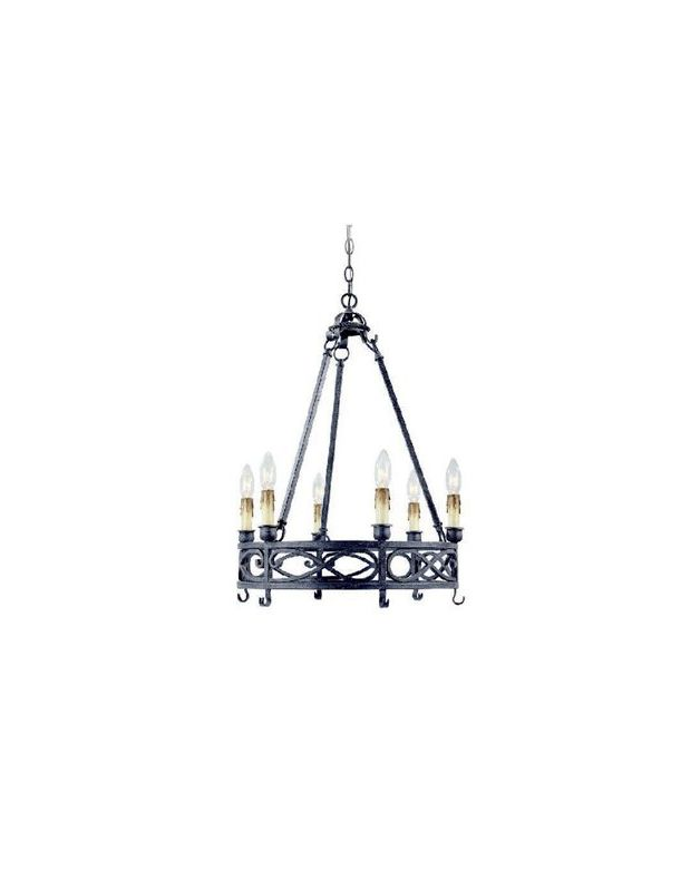 World Imports WI8002085 Chaumont 6 Light 1 Tier Chandelier Textured Sale $232.20 ITEM: bci2405281 ID#:WI8002085 UPC: 689716208506 :