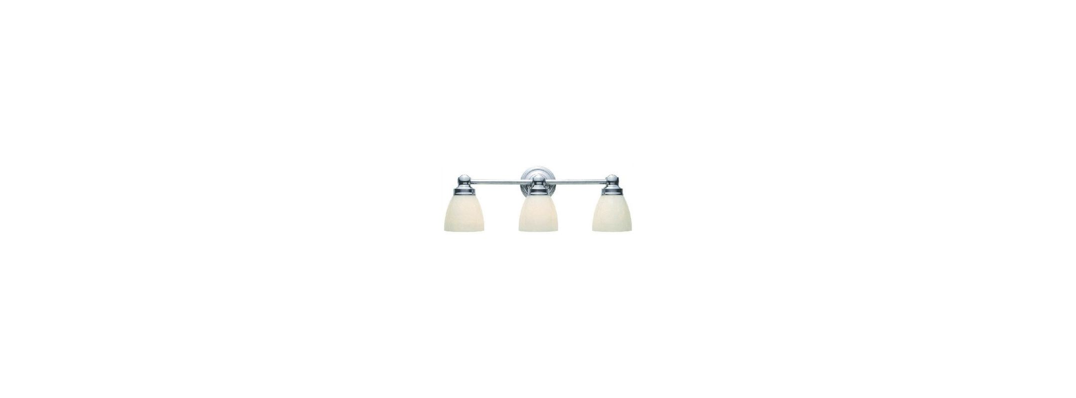 World Imports WI802808 Troyes 3 Light Bathroom Vanity Light Chrome
