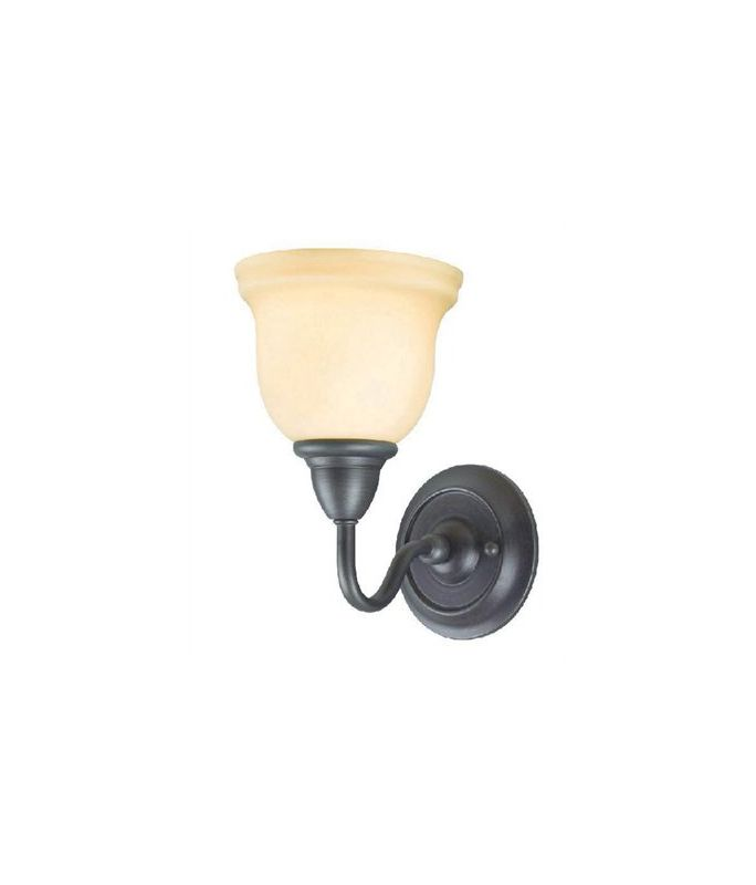 World Imports WI838188 Montpellier 1 Light Wall Sconce Oil Rubbed