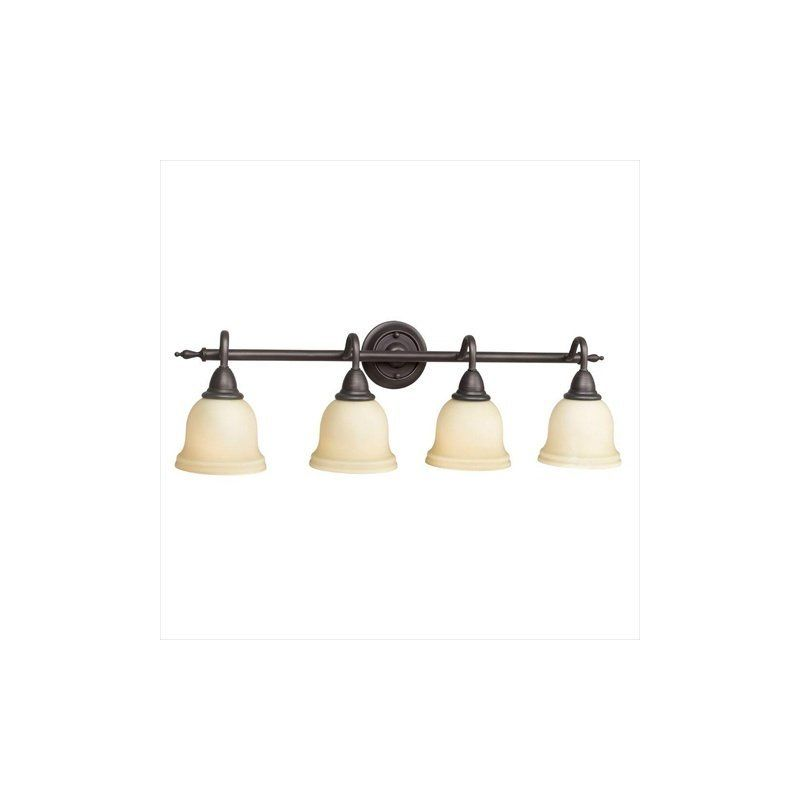 World Imports WI8384 4 Light Vanity Light from the Montpellier