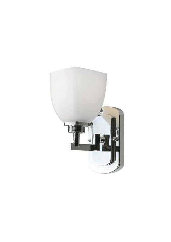 World Imports WI858108 Galway 1 Light Wall Sconce Chrome Indoor