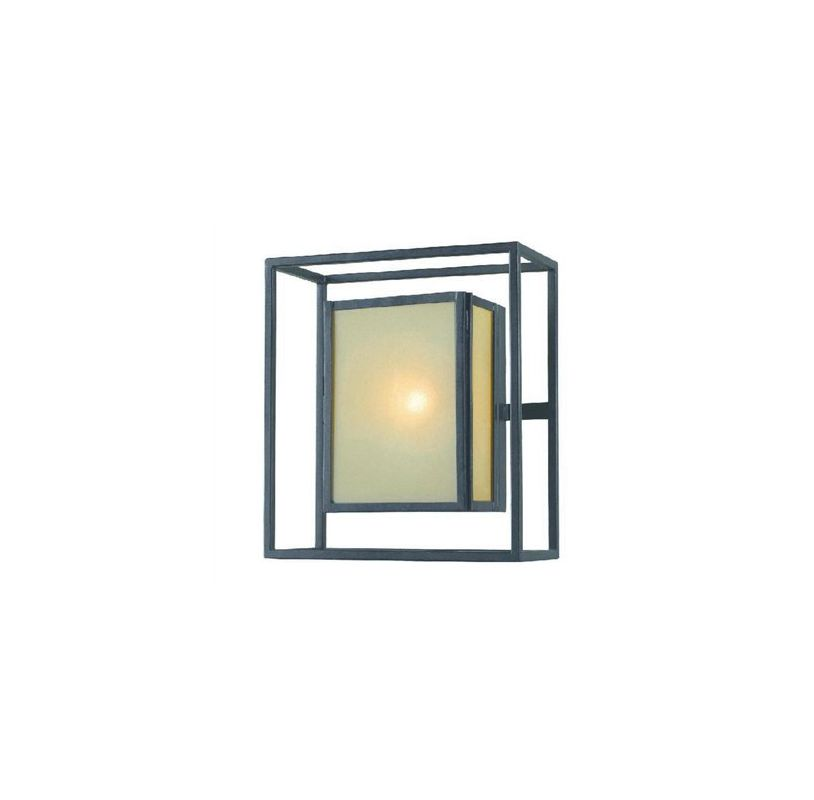 World Imports WI906655 Hilden 1 Light Outdoor Wall Sconce Aged Bronze