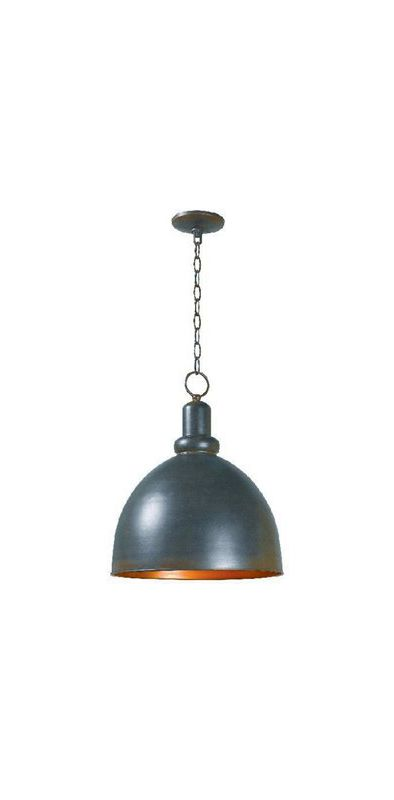 World Imports WI931142 Loft Rust 1 Light Full Sized Pendant Rust