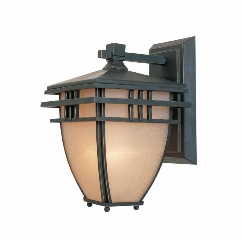 "World Imports WI9718 Lloyd Single Light 13"" Tall Outdoor Wall Sconce"