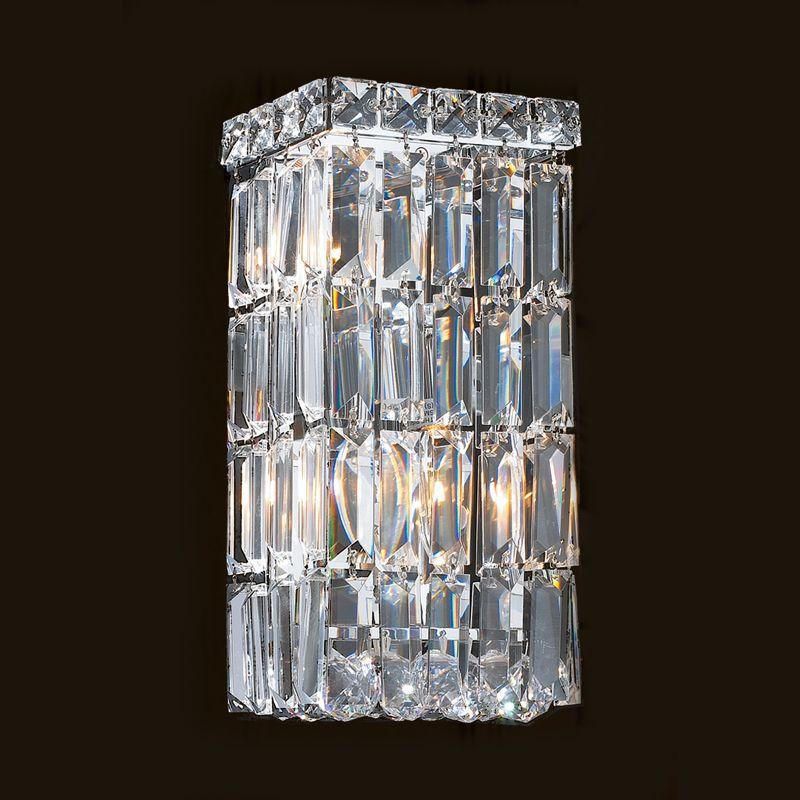 """Worldwide Lighting W23521C6 Cascade 2 Light 6"""" ADA Wall Sconce in"""