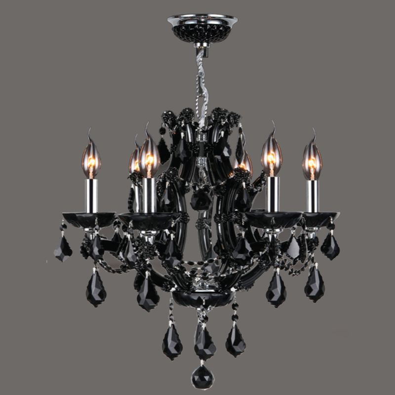 Worldwide Lighting W83117C20 Lyre 6 Light 1 Tier Candle Style Crystal Sale $1140.00 ITEM: bci2590491 ID#:W83117C20-BL UPC: 817484019608 :