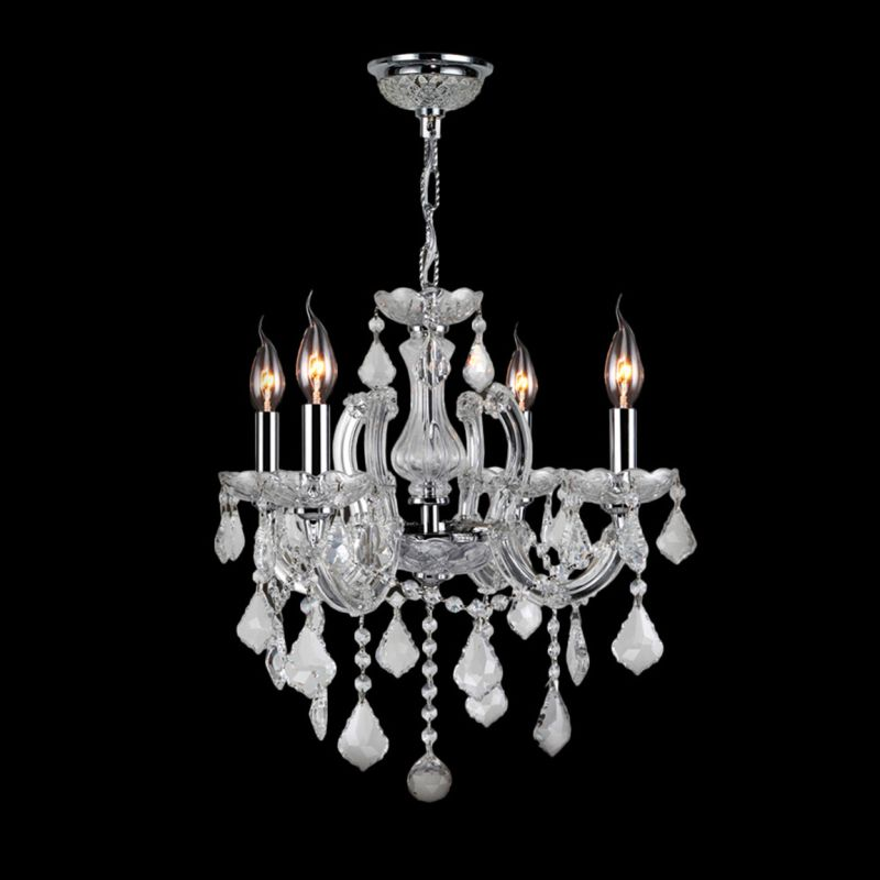 Worldwide Lighting W83119C18-CR Catherine 4 Light Candle Style Crystal Sale $372.00 ITEM: bci2432259 ID#:W83119C18-CR :