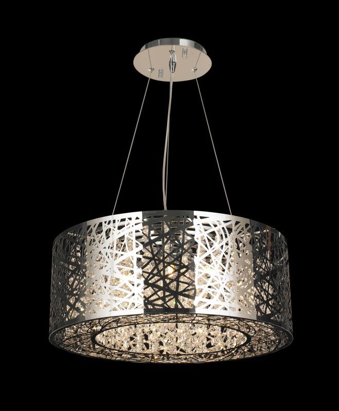 Worldwide Lighting W83143C24 Aramis 12 Light LED Crystal Chandelier