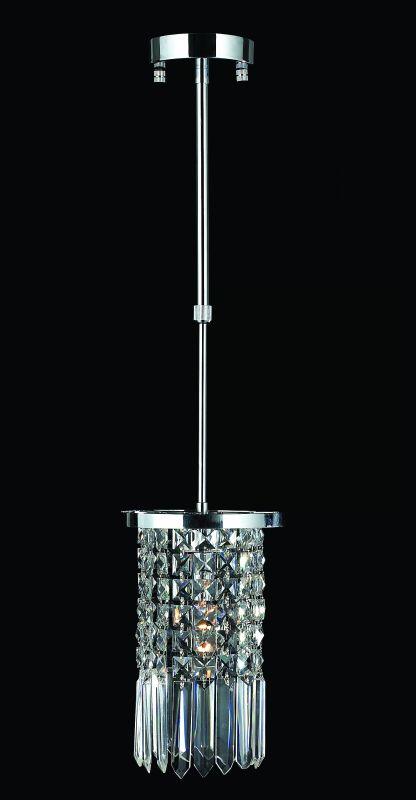 """Worldwide Lighting W83531C6-CL Torrent 1 Light 6"""" Ambient Lighting"""
