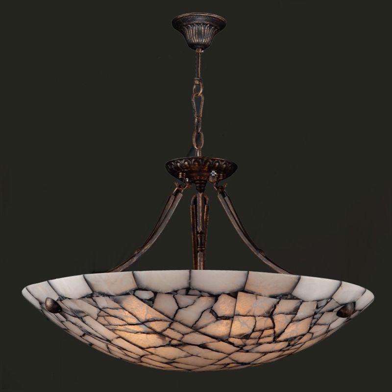 "Worldwide Lighting W83802F24 Pompeii 5 Light 24"" Down Lighting Pendant"
