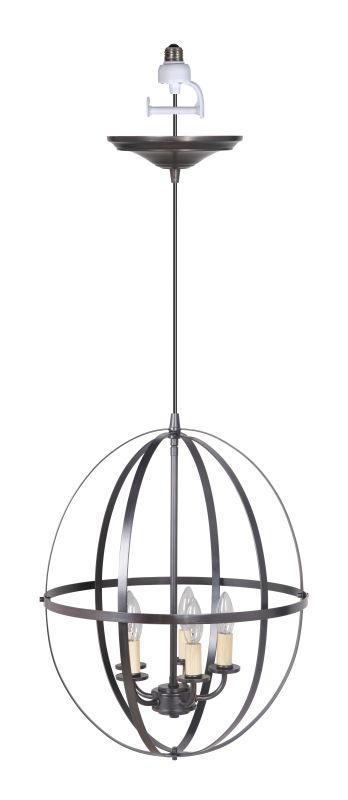 Worth Home Products PBC-1211 Instant Pendant Series Five Light 16""