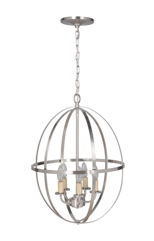 Worth Home Products PBCW-1230 Instant Pendant Series Five Light 16""