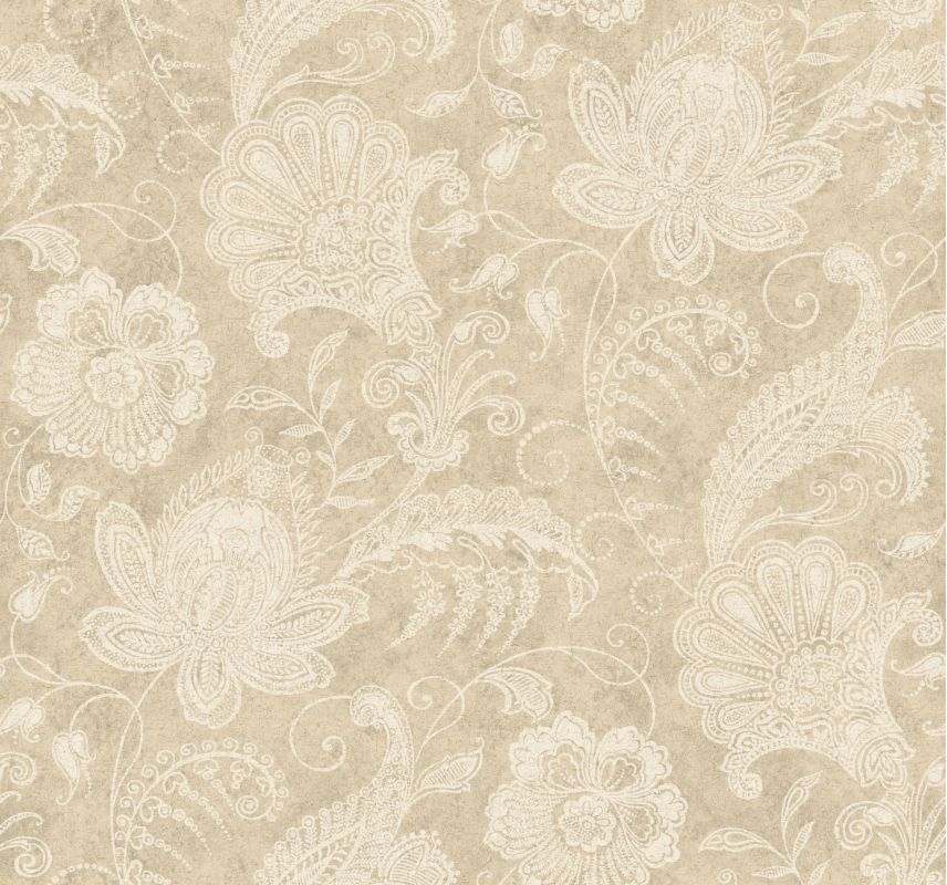 York Wallcoverings 922752 Beige Book Lacy Jacobean Wallpaper Champagne Sale $71.24 ITEM: bci2355753 ID#:922752 UPC: 4000441922752 :
