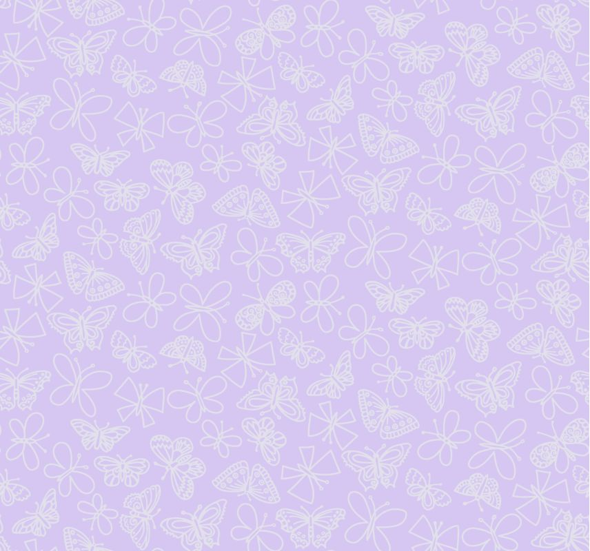 York Wallcoverings BS5538 Room To Grow Glitter Butterfly Wallpaper