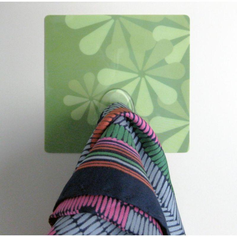 York Wallcoverings CRE31204 Crearreda Go Green Magic Hooks Green Home