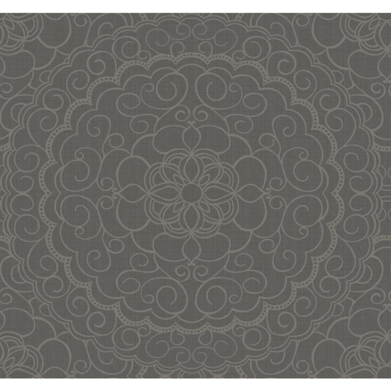 York Wallcoverings CZ2490 Modern Nature Karma Wallpaper Dark Grey Sale $112.18 ITEM: bci2667037 ID#:CZ2490 UPC: 34878607269 :