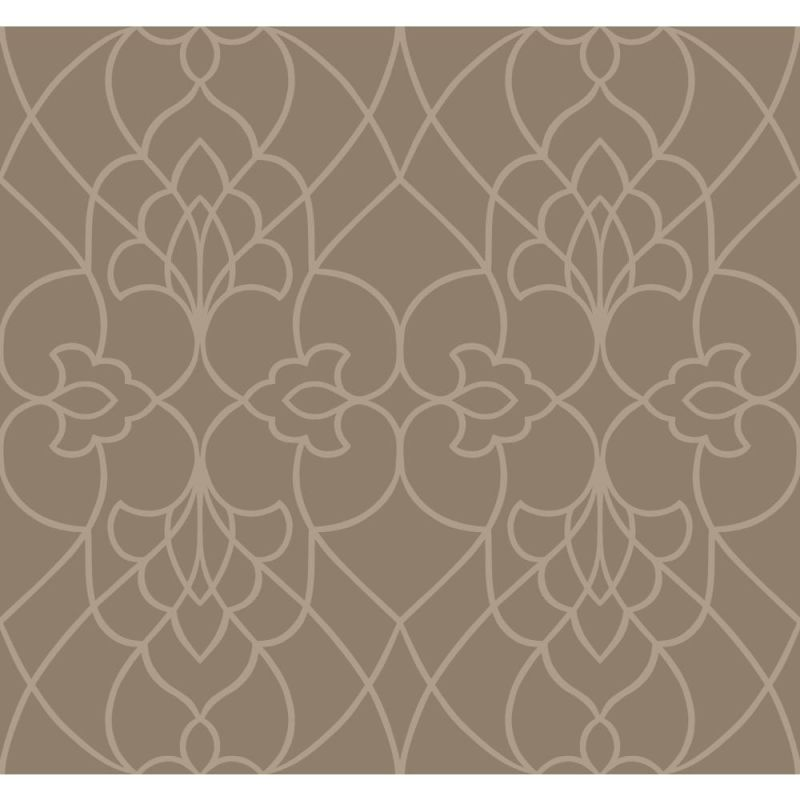 York Wallcoverings DN3741 Modern Luxe Pirouette Wallpaper Taupe Satin Sale $256.68 ITEM: bci2666379 ID#:DN3741 UPC: 34878732312 :
