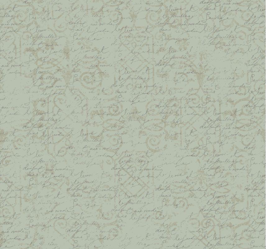 York Wallcoverings ER8154 Waverly Cottage Pen Pal Wallpaper Aqua / Sale $71.24 ITEM: bci2543858 ID#:ER8154 UPC: 34878255378 :