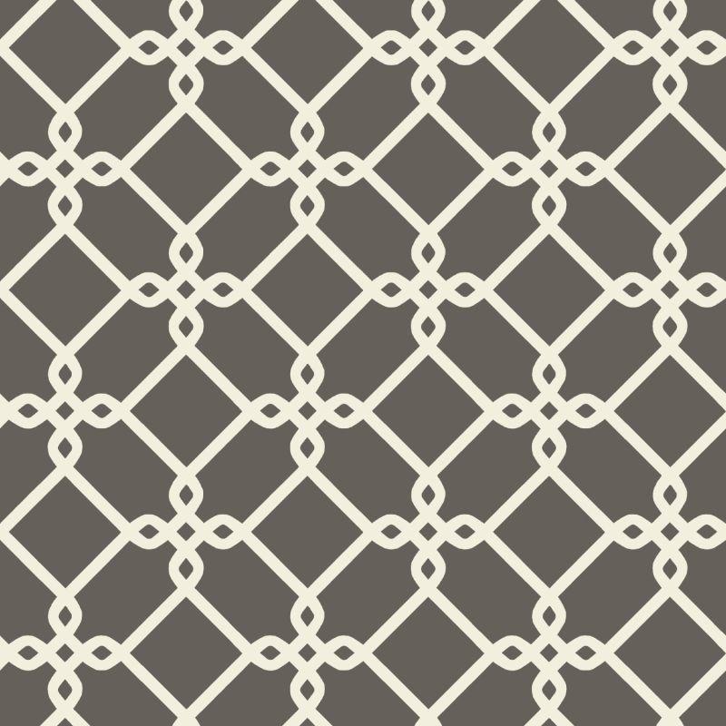 York Wallcoverings GE3626 Ashford Geometrics Threaded Links Wallpaper