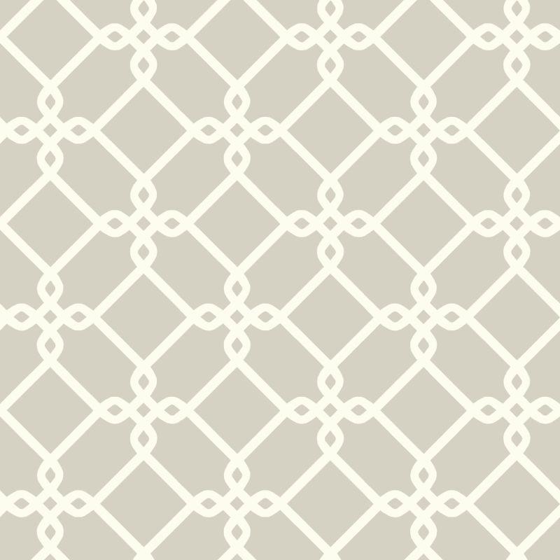 York Wallcoverings GE3627 Ashford Geometrics Threaded Links Wallpaper