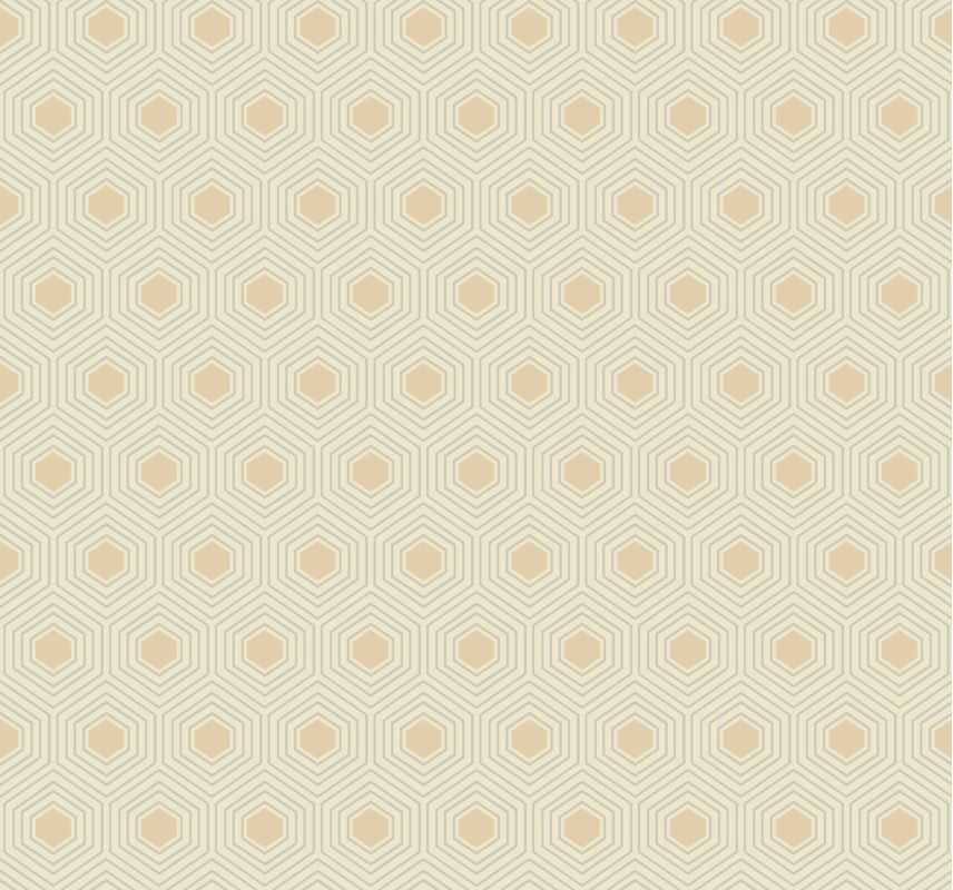 York Wallcoverings GE3643 Ashford Geometrics Honeycomb Wallpaper