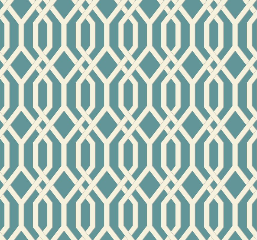 York Wallcoverings GE3684 Ashford Geometrics Garden Pergola Wallpaper