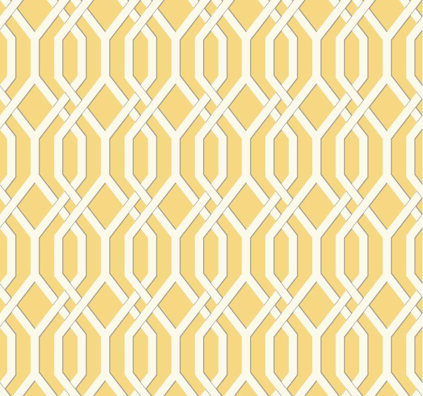 York Wallcoverings GE3685 Ashford Geometrics Garden Pergola Wallpaper