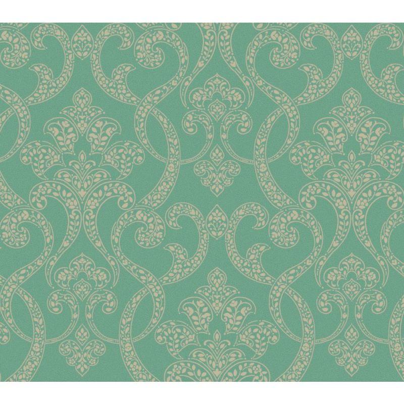 York Wallcoverings GX8137 Passport Paisley Scroll Wallpaper Emerald Sale $65.55 ITEM: bci2667128 ID#:GX8137 UPC: 34878520148 :