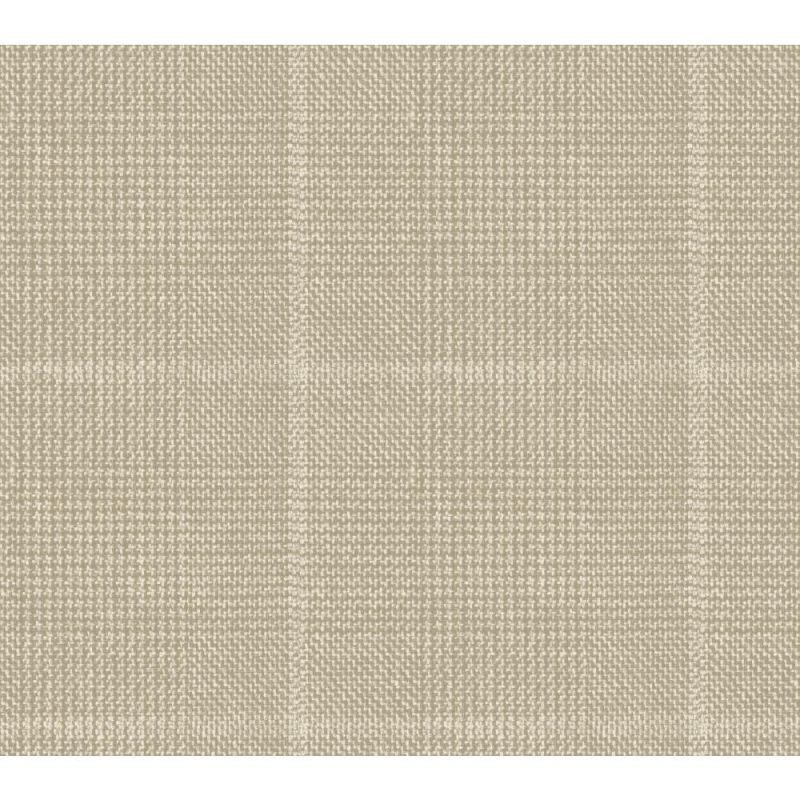 York Wallcoverings GX8196 Passport Houndstooth Wallpaper Linen String