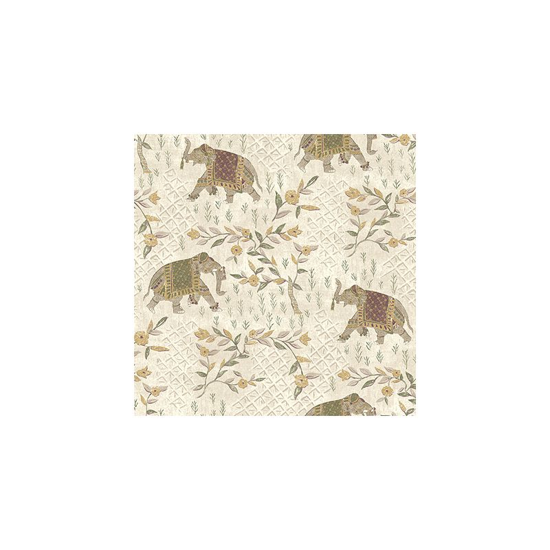York Wallcoverings GX8202 Passport Indian Elelphant Wallpaper Magenta Sale $71.25 ITEM: bci2757056 ID#:GX8202 UPC: 34878520490 :