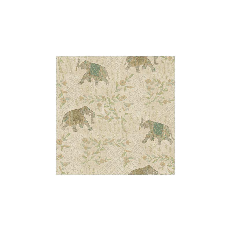York Wallcoverings GX8205 Passport Indian Elelphant Wallpaper