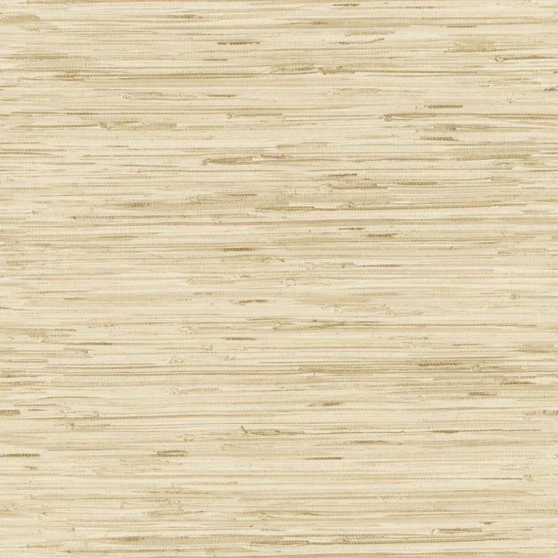 York Wallcoverings GX8221 Passport Grasscloth Wallpaper Wheat Gold