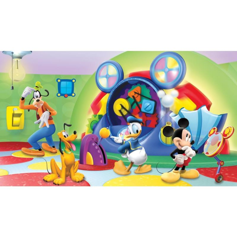 York Wallcoverings JL1317M Mickey & Friends Clubhouse Capers Chair