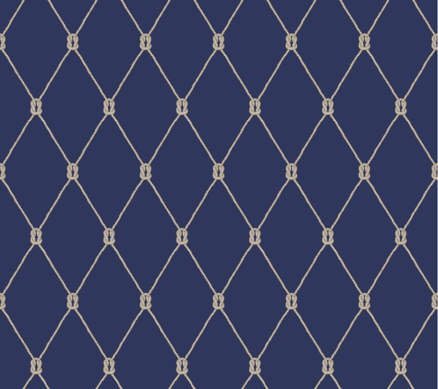York Wallcoverings NY4847 Nautical Living Knot Trellis Wallpaper Sale $143.97 ITEM: bci2658392 ID#:NY4847 UPC: 34878591223 :