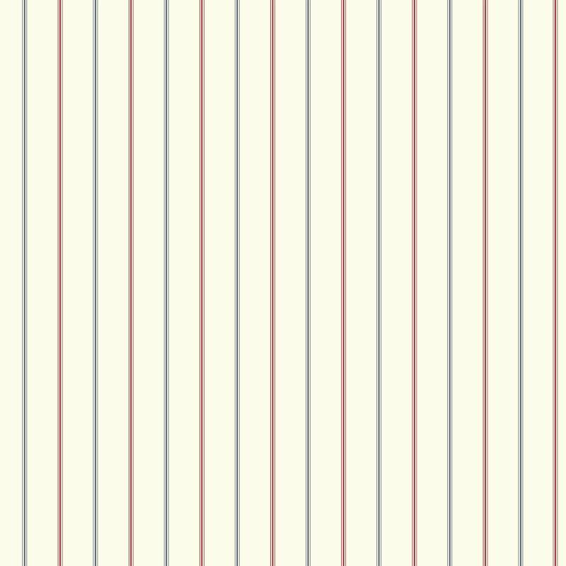 York Wallcoverings NY4854 Nautical Living 3-Pinstripe Wallpaper