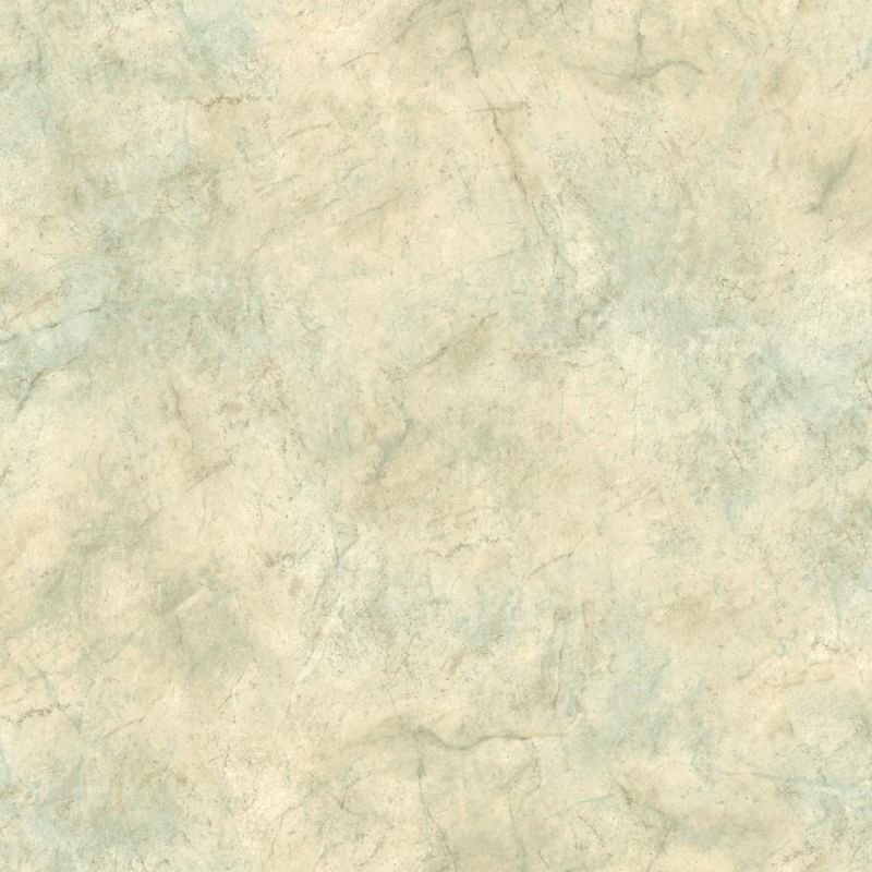 York Wallcoverings PA5666 Texture Portfolio Marble Wallpaper Cream