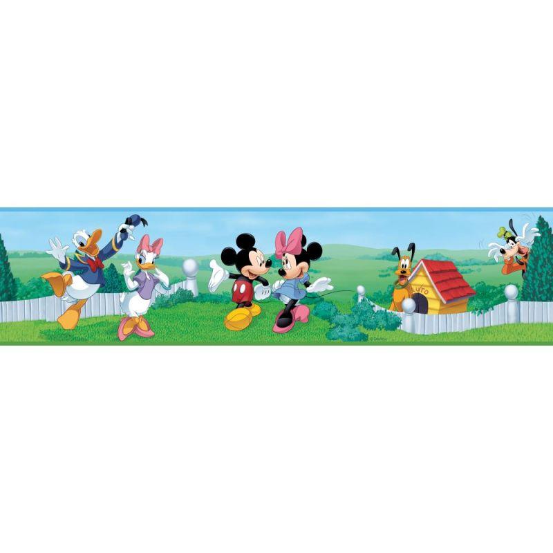 York Wallcoverings RMK1505BCS RoomMates Mickey & Friends Peel & Stick