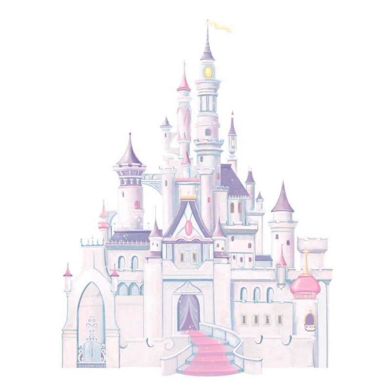 York Wallcoverings RMK1546GM RoomMates Disney Princess - Princess