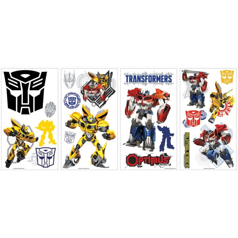 York Wallcoverings RMK2461SCS Transformers Autobots Peel and Stick
