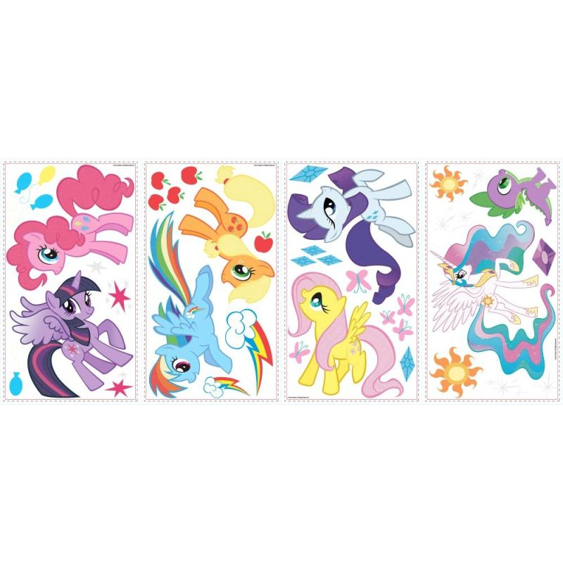 York Wallcoverings RMK2498SCS My Little Pony Peel and Stick Wall Sale $9.97 ITEM: bci2666746 ID#:RMK2498SCS UPC: 34878719139 :